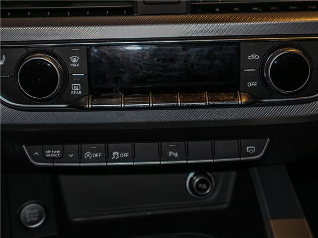 2018 Audi A4 2.0T Progressiv (Stk: 180474) in Toronto - Image 17 of 30