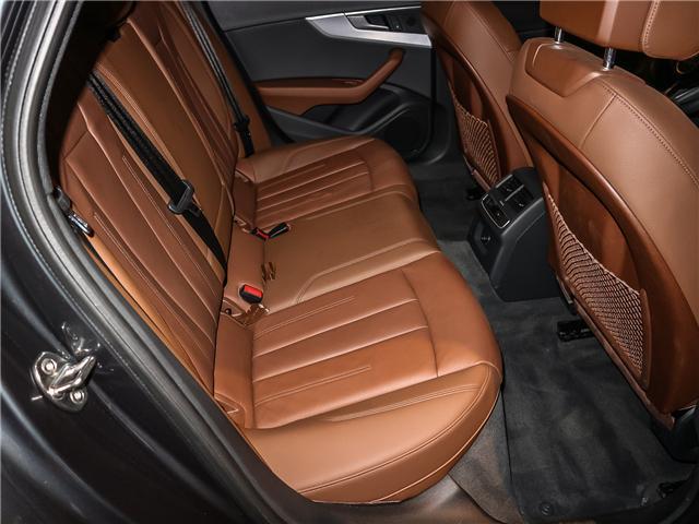 2018 Audi A4 2.0T Progressiv (Stk: 180474) in Toronto - Image 22 of 30