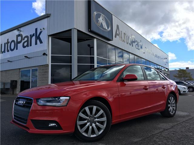 2014 Audi A4 2.0 Komfort (Stk: 14-23181JB) in Barrie - Image 1 of 25