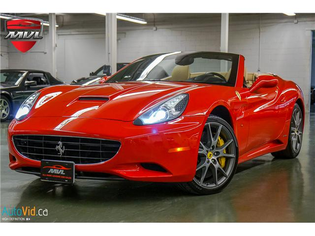 2011 Ferrari California Base (Stk: ) in Oakville - Image 1 of 50