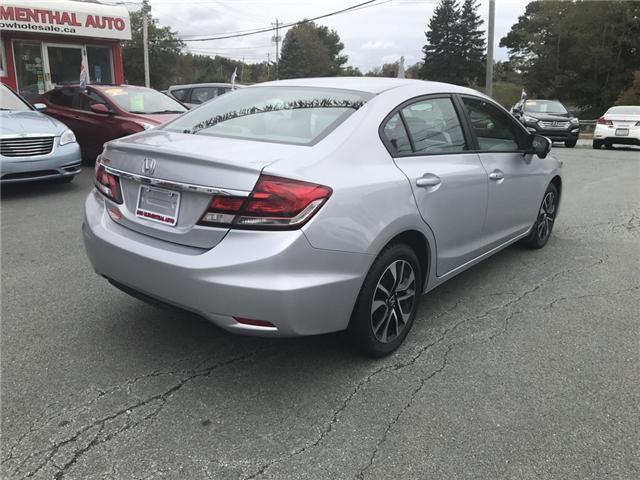 2015 Honda Civic EX (Stk: U54591) in Lower Sackville - Image 5 of 16
