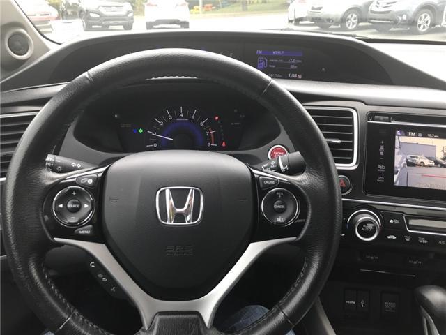 2015 Honda Civic EX (Stk: U54591) in Lower Sackville - Image 16 of 16
