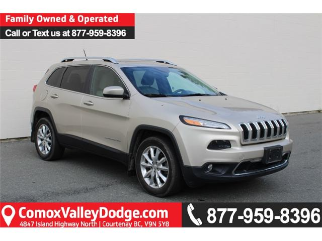 2015 Jeep Cherokee Limited (Stk: D318156A) in Courtenay - Image 1 of 30