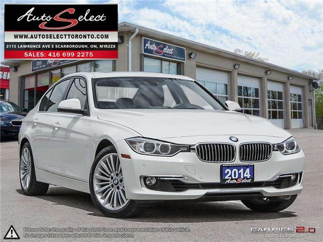 2014 BMW 328i xDrive (Stk: 14AQ3S12) in Scarborough - Image 1 of 28
