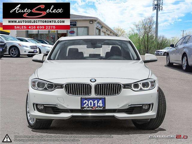 2014 BMW 328i xDrive (Stk: 14AQ3S12) in Scarborough - Image 2 of 28