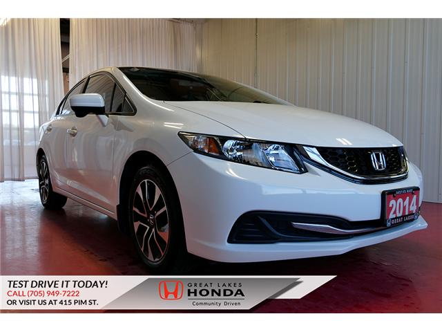 2014 Honda Civic EX (Stk: HP561) in Sault Ste. Marie - Image 1 of 26