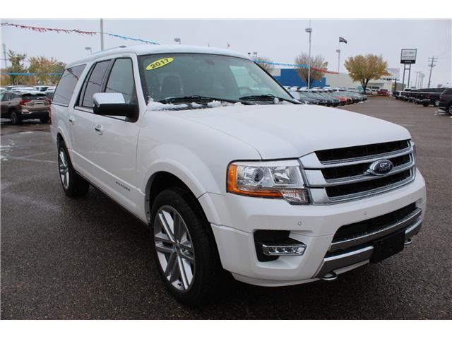 2017 Ford Expedition Max Platinum (Stk: 163155) in Medicine Hat - Image 1 of 20