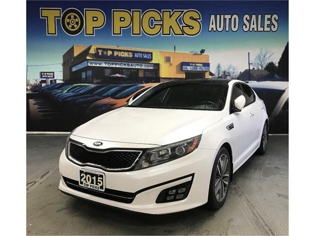 2015 Kia Optima SX Turbo (Stk: 5552074) in NORTH BAY - Image 2 of 29