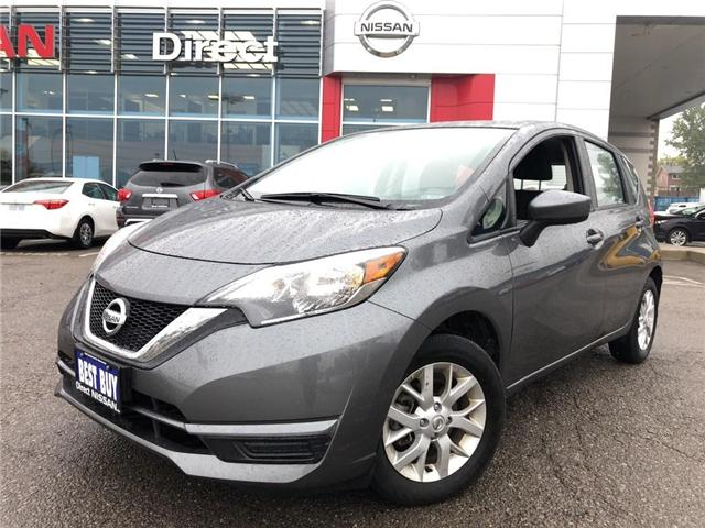 2018 Nissan Versa Note S - CERTIFIED PRE-OWNED (Stk: P0581) in Mississauga - Image 1 of 1
