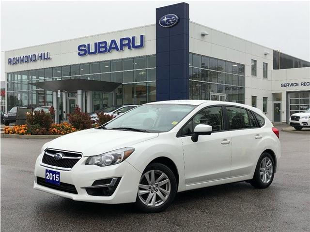 2015 Subaru Impreza 2.0i (Stk: P03726) in RICHMOND HILL - Image 1 of 19