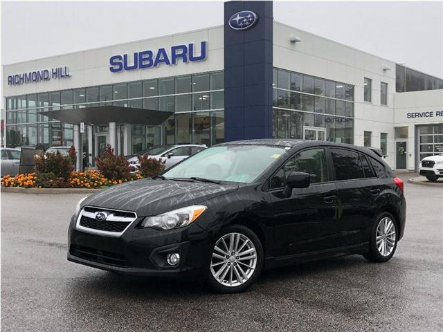 2014 Subaru Impreza 2.0i Sport Package (Stk: P03730) in RICHMOND HILL - Image 1 of 15