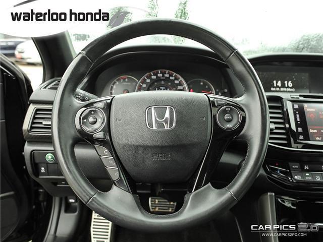 2016 Honda Accord Sport (Stk: U4583) in Waterloo - Image 7 of 28