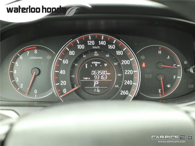 2016 Honda Accord Sport (Stk: U4583) in Waterloo - Image 8 of 28