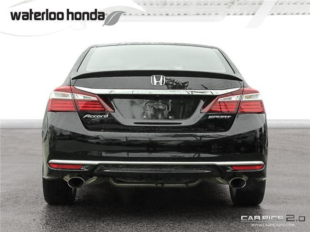 2016 Honda Accord Sport (Stk: U4583) in Waterloo - Image 28 of 28