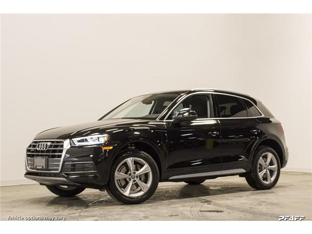 2018 Audi Q5 2.0T Progressiv (Stk: T15663) in Vaughan - Image 1 of 7