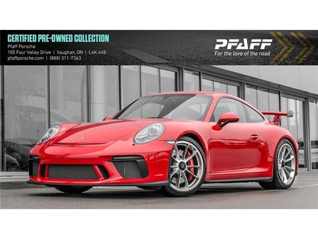 2018 Porsche 911 GT3 w/ PDK (Stk: U7416) in Vaughan - Image 1 of 22