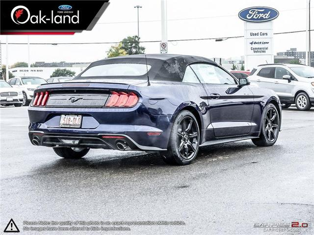 2018 Ford Mustang EcoBoost (Stk: 8G015) in Oakville - Image 7 of 25