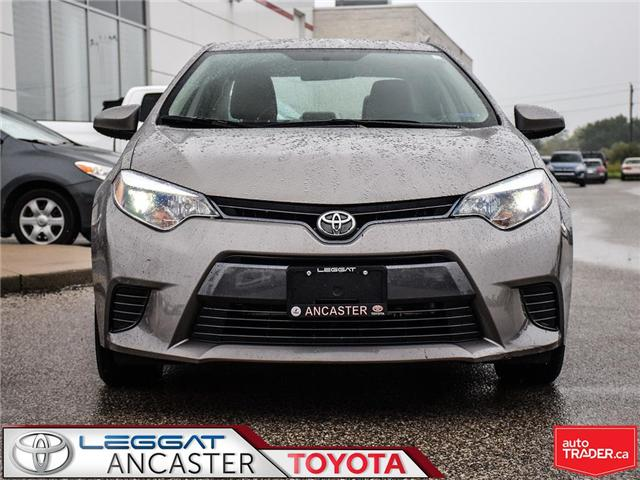 2016 Toyota Corolla  (Stk: 3697) in Ancaster - Image 2 of 20