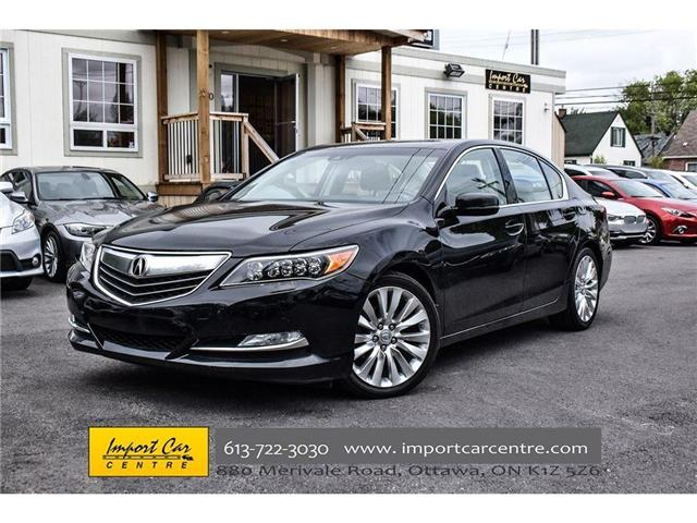 2015 Acura RLX Base (Stk: 800273) in Ottawa - Image 1 of 26