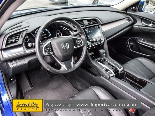 2017 Honda Civic Touring (Stk: 106550) in Ottawa - Image 10 of 24