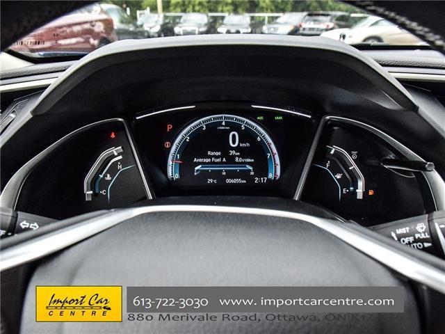 2017 Honda Civic Touring (Stk: 106550) in Ottawa - Image 20 of 24