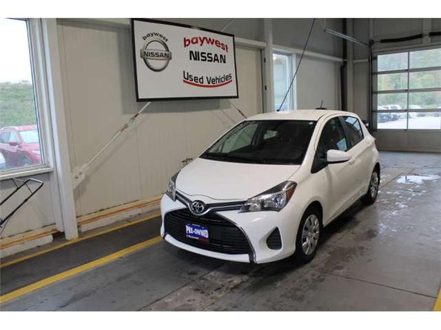 2017 Toyota Yaris LE (Stk: P0611) in Owen Sound - Image 1 of 12