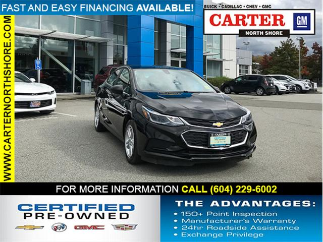 2018 Chevrolet Cruze LT Auto (Stk: 971310) in Vancouver - Image 1 of 28