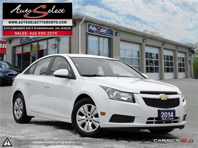2014 Chevrolet Cruze  (Stk: 14RWR81) in Scarborough - Image 1 of 27