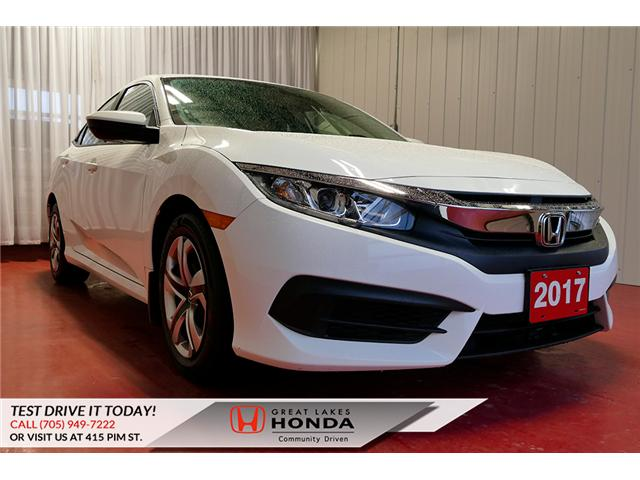 2017 Honda Civic LX (Stk: H5852A) in Sault Ste. Marie - Image 1 of 23