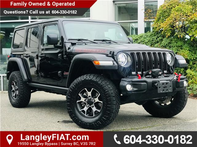 2018 Jeep Wrangler Unlimited Rubicon (Stk: LF008940A) in Surrey - Image 1 of 30