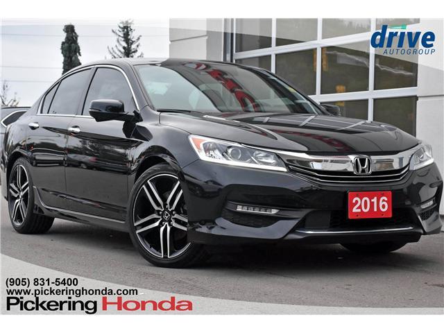 2016 Honda Accord Sport (Stk: P4389) in Pickering - Image 1 of 27