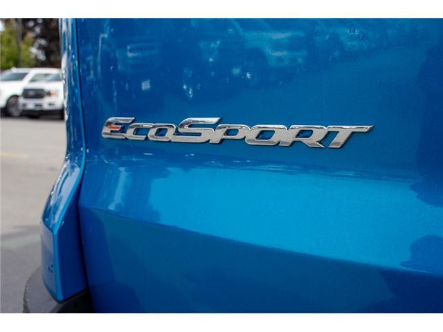 2018 Ford EcoSport SE (Stk: 8EC2133) in Surrey - Image 9 of 26