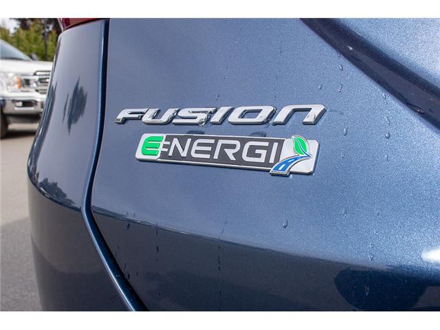 2018 Ford Fusion Energi Platinum (Stk: 8FU2670) in Surrey - Image 9 of 27