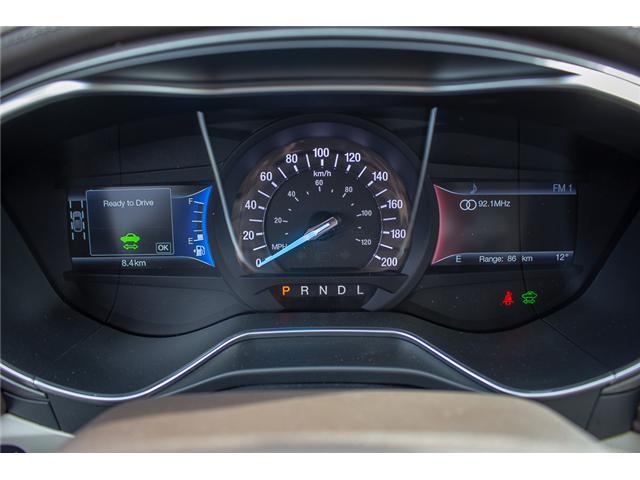 2018 Ford Fusion Energi Platinum (Stk: 8FU2670) in Surrey - Image 24 of 27