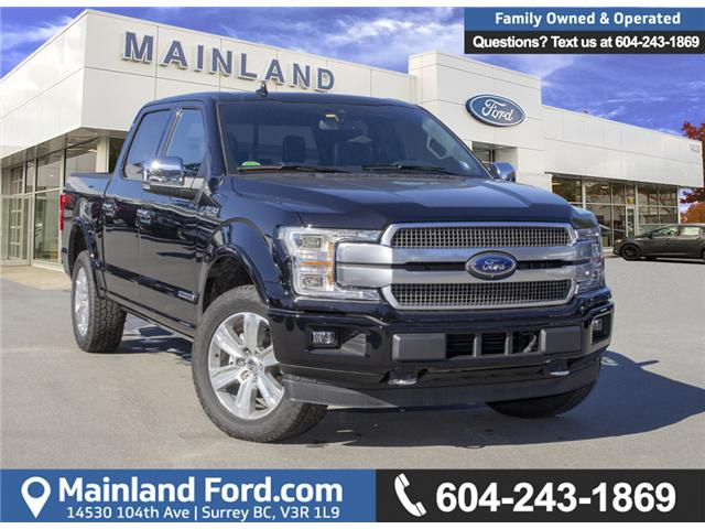 2018 Ford F-150 Platinum (Stk: 8F12035) in Surrey - Image 1 of 30