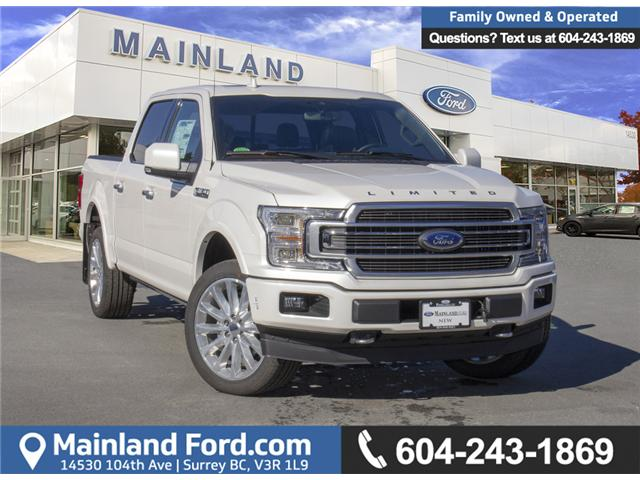 2018 Ford F-150 Platinum (Stk: 8F12320) in Surrey - Image 1 of 28