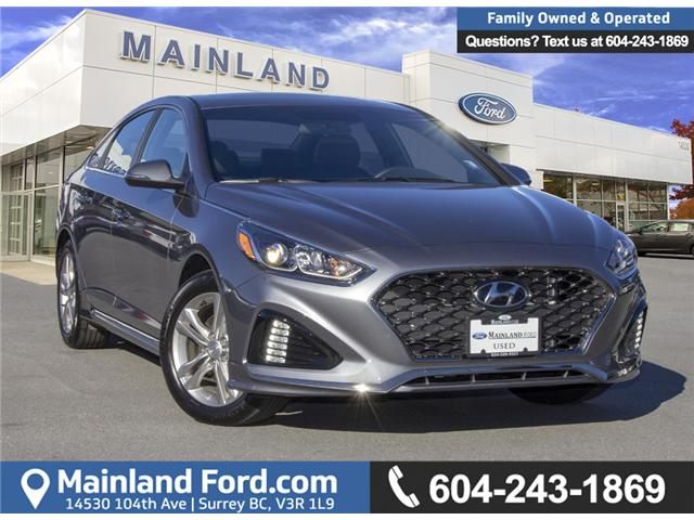 2018 Hyundai Sonata 2.4 Sport (Stk: P6988) in Surrey - Image 1 of 28