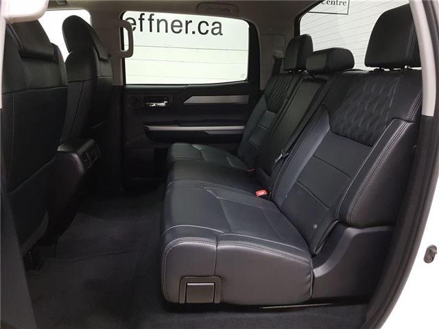 2016 Toyota Tundra Platinum 5.7L V8 (Stk: 185565) in Kitchener - Image 19 of 22