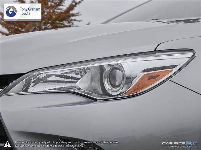 2015 Toyota Camry XLE (Stk: U9025) in Ottawa - Image 10 of 28