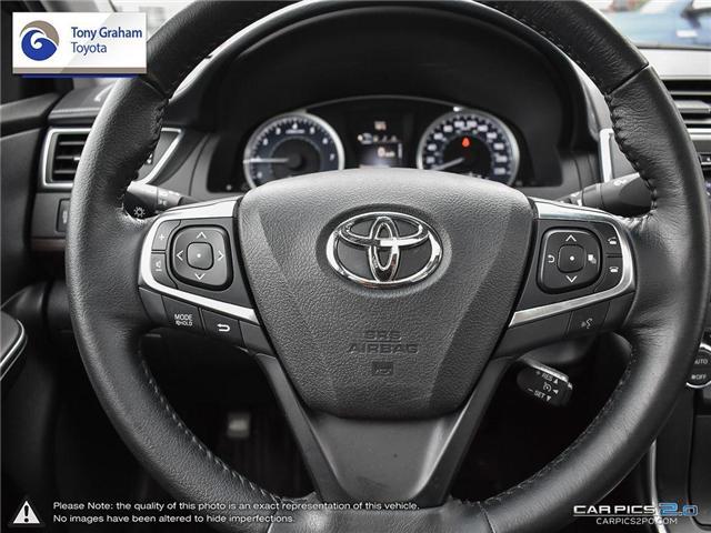 2015 Toyota Camry XLE (Stk: U9025) in Ottawa - Image 14 of 28