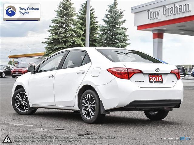 2018 Toyota Corolla LE (Stk: U9019) in Ottawa - Image 4 of 28