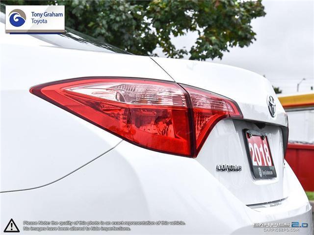 2018 Toyota Corolla LE (Stk: U9019) in Ottawa - Image 12 of 28