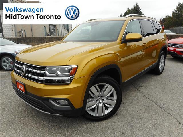 2018 Volkswagen Atlas 3.6 FSI Execline (Stk: P7094) in Toronto - Image 1 of 30