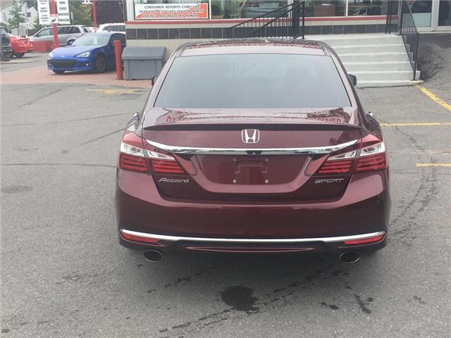2016 Honda Accord Sedan sport (Stk: H7283-0) in Ottawa - Image 7 of 22