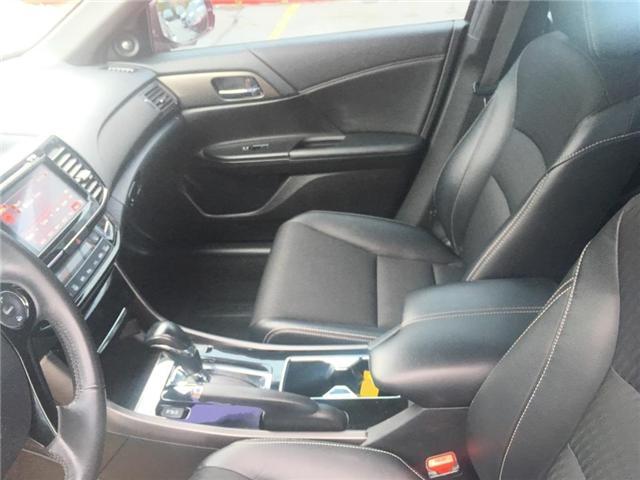 2016 Honda Accord Sedan sport (Stk: H7283-0) in Ottawa - Image 10 of 22