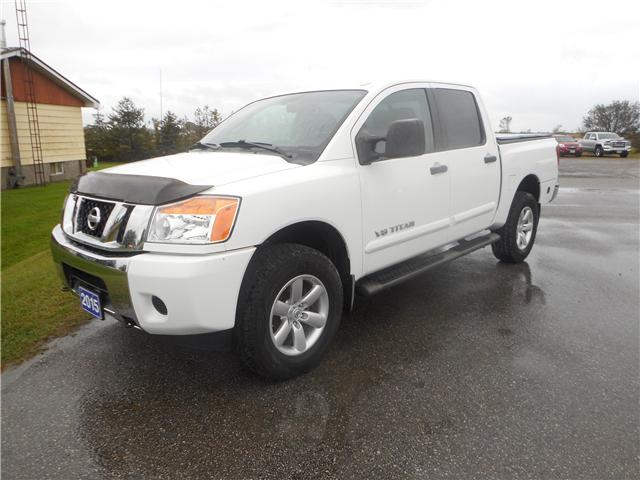 2015 Nissan Titan SV (Stk: NC 3661) in Cameron - Image 1 of 11