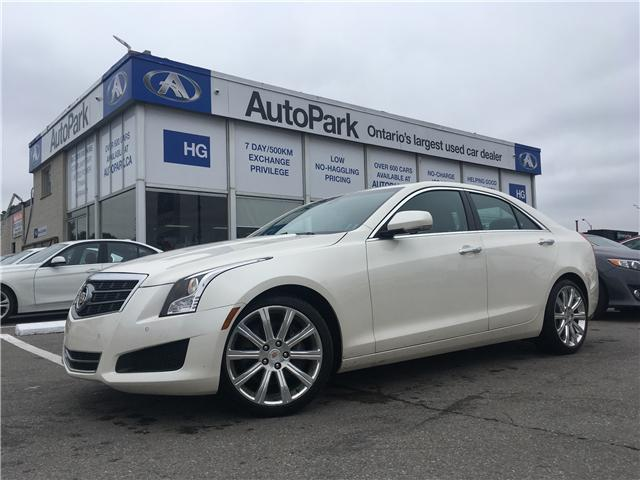 2014 Cadillac ATS 2.0L Turbo Luxury (Stk: 14-58995) in Brampton - Image 1 of 26
