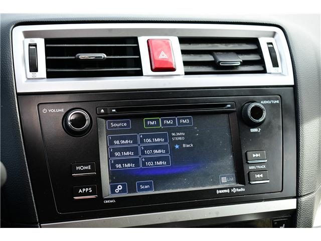 2017 Subaru Outback 2.5i (Stk: P35617) in Saskatoon - Image 15 of 30