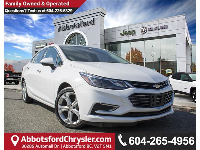 2018 Chevrolet Cruze Premier Auto (Stk: AB0753) in Abbotsford - Image 1 of 26