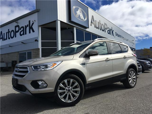 2018 Ford Escape Titanium (Stk: 18-37435RJB) in Barrie - Image 1 of 30
